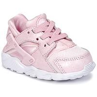 Topánky Dievčatá Nízke tenisky Nike HUARACHE RUN SE TODDLER Ružová