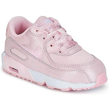 Topánky Dievčatá Nízke tenisky Nike AIR MAX 90 MESH SE TODDLER Ružová