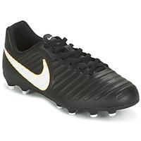 Topánky Deti Futbalové kopačky Nike TIEMPO RIO IV FG JUNIOR čierna / Biela
