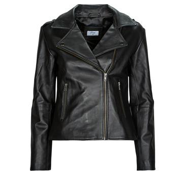 Oblečenie Ženy Kožené bundy a syntetické bundy Betty London IGADITE Čierna