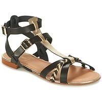 Topánky Ženy Sandále Bocage JARET čierna / Zlatá