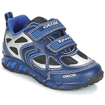 Topánky Chlapci Nízke tenisky Geox J SHUTTLE B. A Námornícka modrá / Modrá
