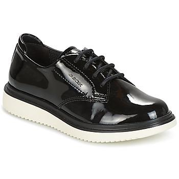 Topánky Dievčatá Derbie Geox J THYMAR G. B Čierna