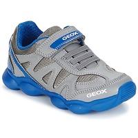 Topánky Chlapci Nízke tenisky Geox J MUNFREY B. A šedá / Modrá
