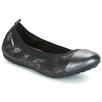Topánky Dievčatá Balerínky a babies Geox J PIUMA BAL B Čierna
