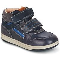 Topánky Chlapci Členkové tenisky Geox B NEW FLICK B. A Námornícka modrá / Modrá
