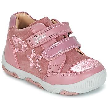 Topánky Dievčatá Nízke tenisky Geox B N.BALU' G. C Ružová