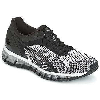 Topánky Ženy Bežecká a trailová obuv Asics GEL-QUANTUM 360 KNIT čierna / Biela