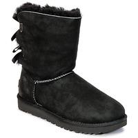 Topánky Ženy Polokozačky UGG BAILEY BOW II čierna