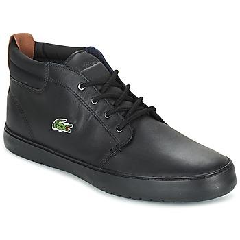 Topánky Muži Členkové tenisky Lacoste AMPTHILL TERRA Čierna