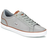 Topánky Muži Nízke tenisky Lacoste LEROND 3 šedá / Hnedá