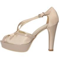 Topánky Ženy Sandále Sergio Cimadamore sandali beige raso vernice AF482 Beige