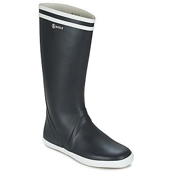 Topánky Muži Čižmy do dažďa Aigle GOELAND Námornícka modrá / Biela