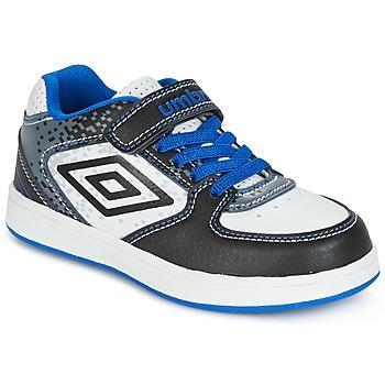 Topánky Chlapci Nízke tenisky Umbro DOGAN VLC Biela / Modrá