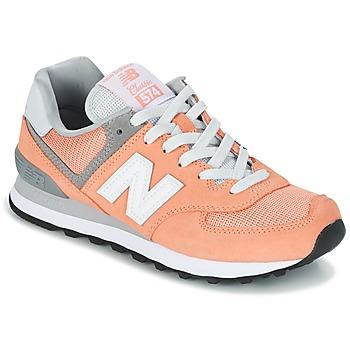Topánky Ženy Nízke tenisky New Balance WL574 Broskyňová