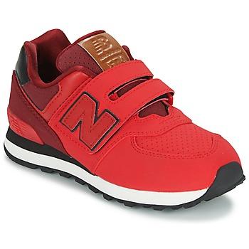 Topánky Deti Nízke tenisky New Balance KV575 Červená / Čierna