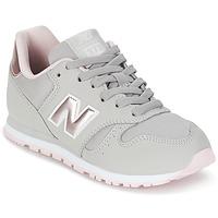 Topánky Dievčatá Nízke tenisky New Balance KJ374 šedá / Ružová