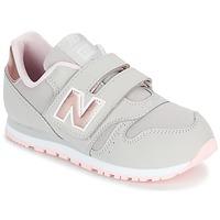 Topánky Dievčatá Nízke tenisky New Balance KV373 šedá / Ružová