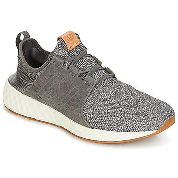 Topánky Muži Bežecká a trailová obuv New Balance CRUZ šedá / Biela