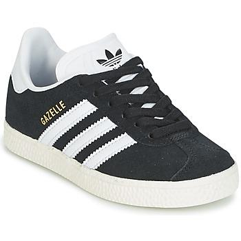 Topánky Deti Nízke tenisky adidas Originals GAZELLE C Čierna