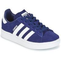 Topánky Chlapci Nízke tenisky adidas Originals CAMPUS C Námornícka modrá