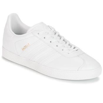 Topánky Deti Nízke tenisky adidas Originals GAZELLE J Biela