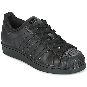 Topánky Deti Nízke tenisky adidas Originals SUPERSTAR Čierna