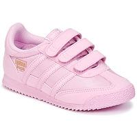 Topánky Dievčatá Nízke tenisky adidas Originals DRAGON OG CF I Ružová