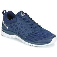 Topánky Muži Bežecká a trailová obuv Reebok Sport SUBLITE XT CUSHION Námornícka modrá / Biela