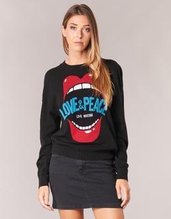 Oblečenie Ženy Svetre Love Moschino WS91G00X0683 Čierna