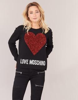 Oblečenie Ženy Svetre Love Moschino WS89G01X0683 Čierna
