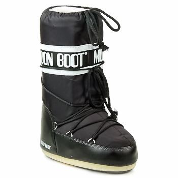 Topánky Ženy Obuv do snehu Moon Boot MOON BOOT NYLON Čierna