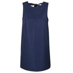 Oblečenie Ženy Krátke šaty Casual Attitude GADINE Námornícka modrá