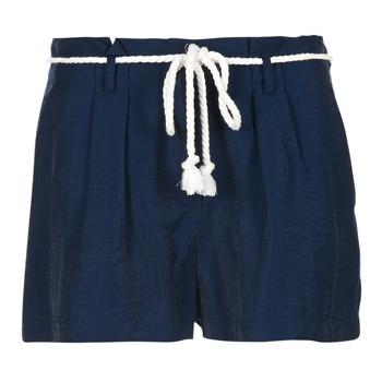 Oblečenie Ženy Šortky a bermudy Casual Attitude GRETTE Námornícka modrá