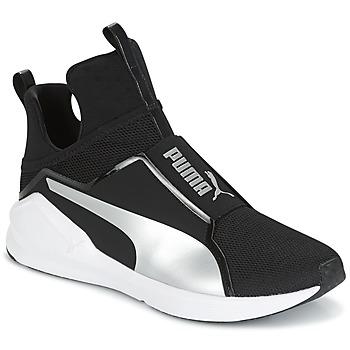 Topánky Ženy Členkové tenisky Puma FIERCE core Čierna