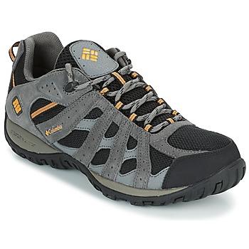 Topánky Muži Turistická obuv Columbia REDMOND WATERPROOF čierna