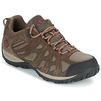 Topánky Muži Turistická obuv Columbia REDMOND WATERPROOF Hnedošedá