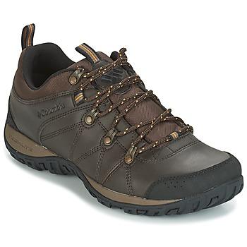 Topánky Muži Univerzálna športová obuv Columbia PEAKFREAK VENTURE WATERPROOF Hnedá