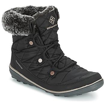 Topánky Ženy Snehule  Columbia HEAVENLY SHORTY OMNI-HEAT Čierna