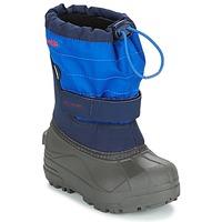 Topánky Deti Obuv do snehu Columbia CHILDRENS POWDERBUG PLUS II Námornícka modrá
