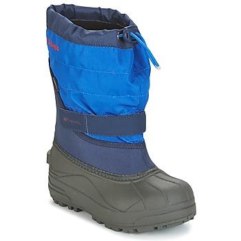 Topánky Deti Obuv do snehu Columbia YOUTH POWDERBUG™ PLUS II Námornícka modrá