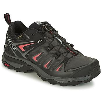 Topánky Ženy Turistická obuv Salomon X ULTRA 3 GTX® Čierna / Červená