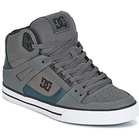 Topánky Muži Členkové tenisky DC Shoes SPARTAN HIGH WC šedá / Zelená