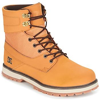 Topánky Muži Polokozačky DC Shoes UNCAS M BOOT TBK Béžová / Čierna / Hnedá