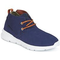Topánky Muži Polokozačky DC Shoes ASHLAR M SHOE NC2 Námornícka modrá / Ťavia hnedá