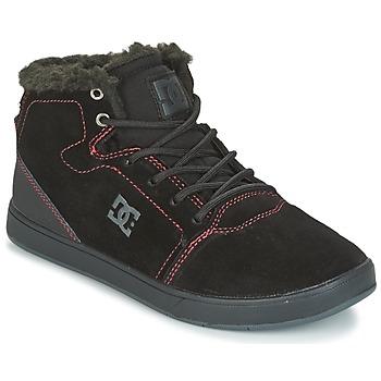 Topánky Deti Členkové tenisky DC Shoes CRISIS HIGH WNT Čierna / Červená / Biela