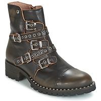 Topánky Ženy Polokozačky Dkode UMBRIA-BLACK-001 Čierna