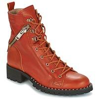 Topánky Ženy Polokozačky Dkode UDELE-OCRE-008 Okrová-svetlá hnedá