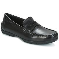Topánky Muži Mokasíny Geox U MONET W 2FIT Čierna