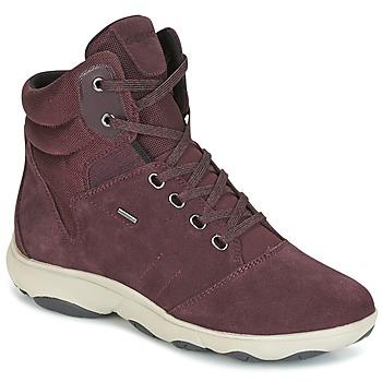 Topánky Ženy Členkové tenisky Geox D NEBULA 4 X 4 B ABX Bordová